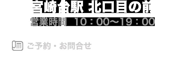 東急田園都市線 宮崎台駅 北口目の前